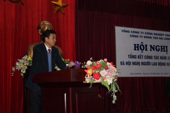 Đồng chí Nguyễn Tuấn Anh – Bí thư Đảng ủy, Tổng giám đốc Công ty phát biểu giải đáp kiến nghị